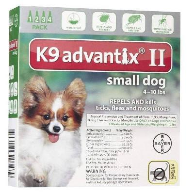 K9 Advantix II Pet Insect Treatment for Dogs