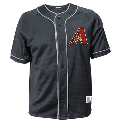 MLB Arizona Diamondbacks Men's Button-Down Jersey