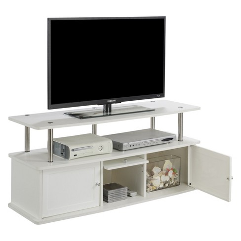 Johar Furniture Designs2go With 3 Cabinets Tv Stand White Target