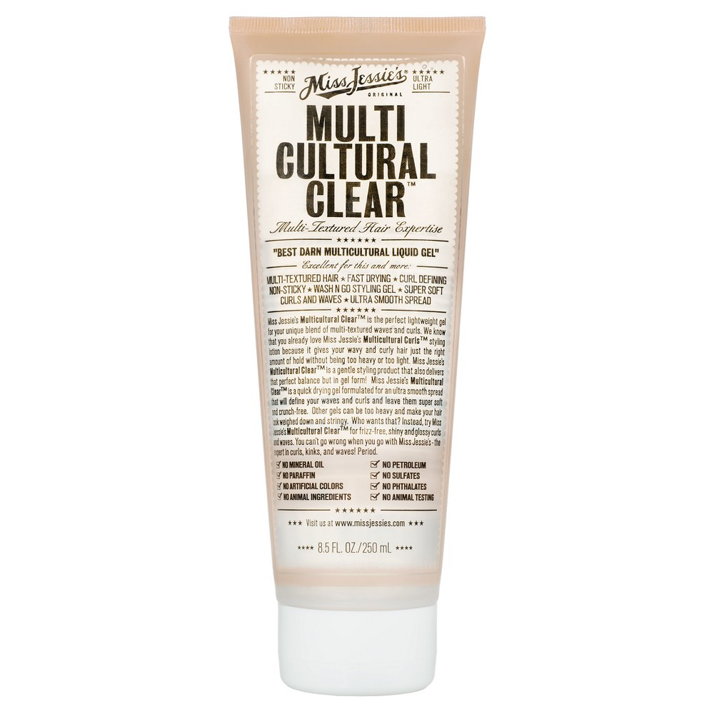 Image of Miss Jessie's Multicultural Clear - 8.5 fl oz