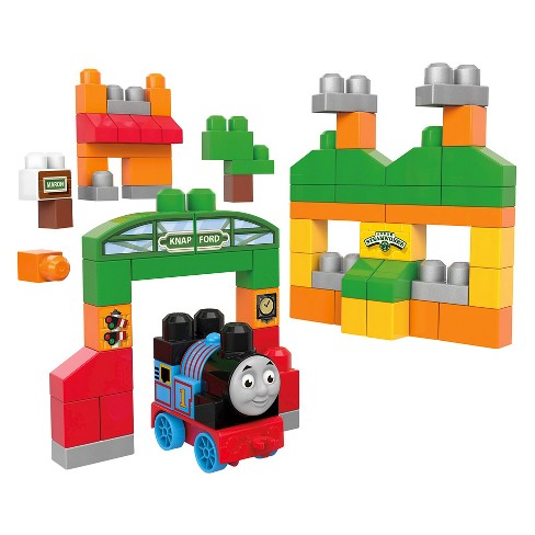 Mega Bloks Thomas and Friends Thomas Sodor Adventures Building Bag - image 1 of 8