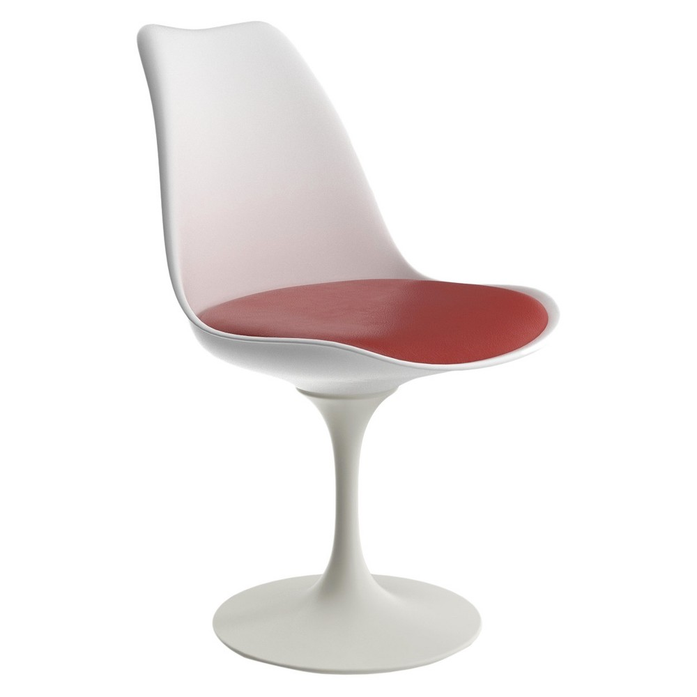 Maggie Dining Chair - White And Red - Aeon
