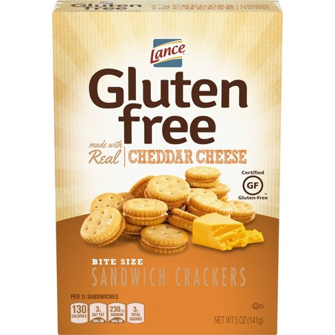 Lance Real Cheddar Cheese Bite Size Sandwich Crackers - 5oz - image 1 of 4
