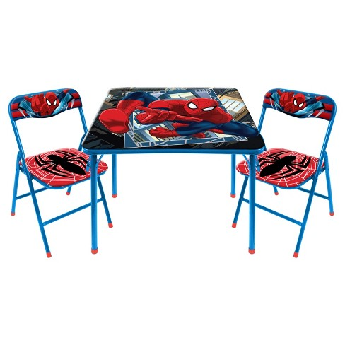 3 Piece Spider-Man Table and Chair Set - Nickelodeon - image 1 of 2