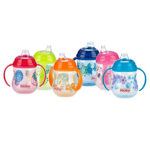 Nuby Designer Series 2pk Trainer Cup - image 1 of 1