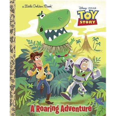 A Roaring Adventure - (Disney Pixar Toy Story) by  Kristen L Depken (Hardcover)