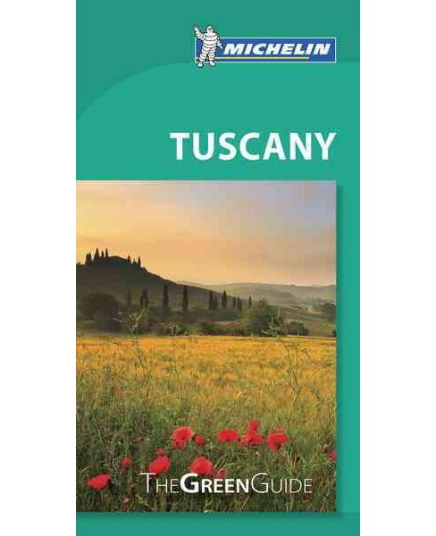 Michelin Green Guide Tuscany (Paperback) - image 1 of 1