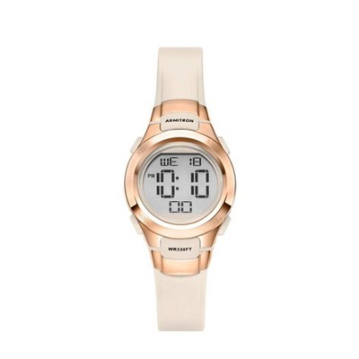 Women's Armitron Pro Sport Digital Watch - Rose Gold