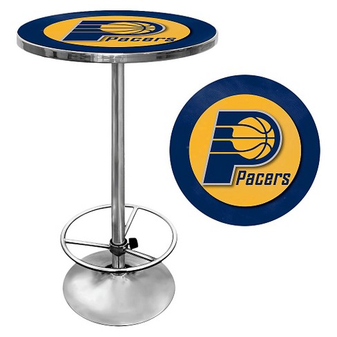 Indiana Pacers Chrome Pub Table - image 1 of 1
