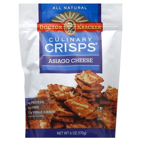 Doctor Kracker Asiago Cheese Culinary Crisps Crackers - image 1 of 1