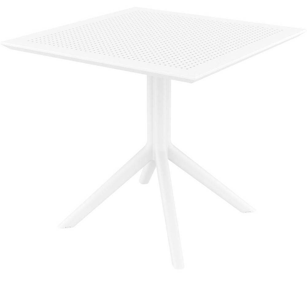 "Image of ""31.5"""" x 31.5"""" Sky Patio Table - White - Resol"""