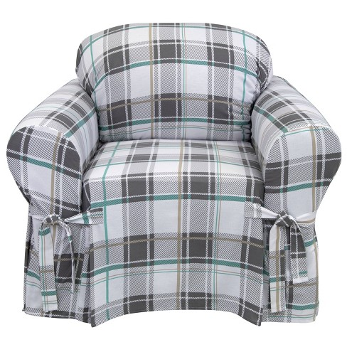 Relaxed Fit Duck Furniture Slipcover - Serta - image 1 of 4