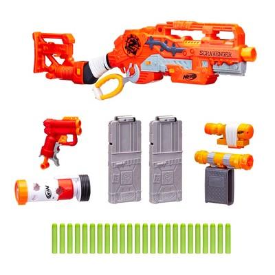 NERF Zombie Survival System Scavenger Blaster