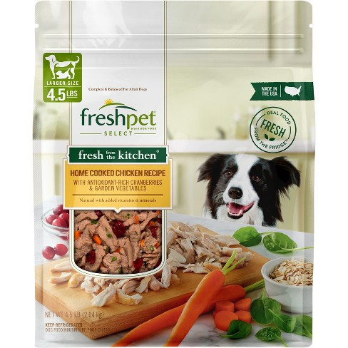 Freshpet Select Fresh From the Kitchen Home Cooked Chicken Recipe Refrigerated Dog Food - image 1 of 3