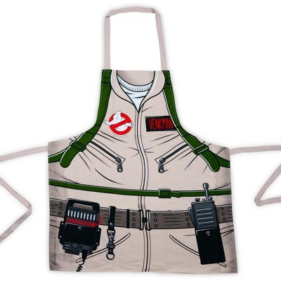 Cryptozoic Entertainment Ghostbusters Cooking Apron   Peter Venkman's Uniform Grill Apron   100% Cotton