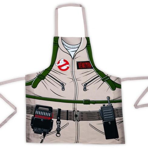 Cryptozoic Entertainment Ghostbusters Cooking Apron | Peter Venkman's Uniform Grill Apron | 100% Cotton - image 1 of 4