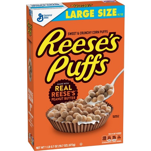 Reese's Puffs Breakfast Cereal - 16.7oz - General Mills - image 1 of 4