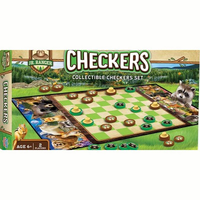 MasterPieces National Parks Checkers Board Game