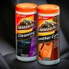 Armor All 2pk 30ct Cleaning/Leather Wipes Automotive Interior Cleaner - image 2 of 4