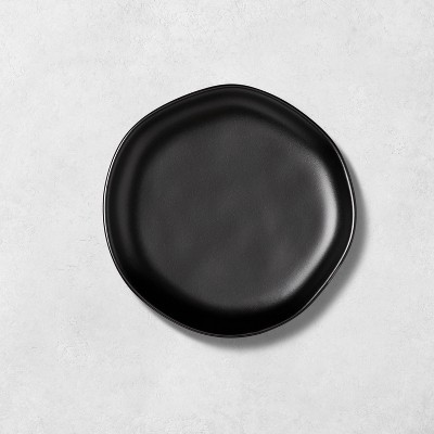 Stoneware Appetizer Plate Matte Black - Hearth & Hand™ with Magnolia