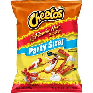 Cheetos Crunchy Flamin Hot - 15oz