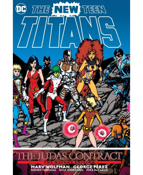 New Teen Titans : The Judas Contract (Deluxe) (Hardcover) (Marv Wolfman) - image 1 of 1