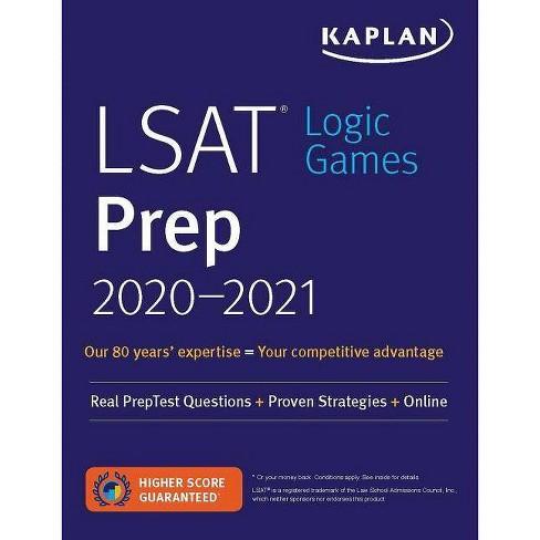 LSAT Logic Games Prep 2020-2021 - (Kaplan Test Prep) (Paperback) - image 1 of 1