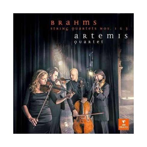 Artemis Quartet - Brahms: String Quartets Nos. 1 & 3 (CD) - image 1 of 1