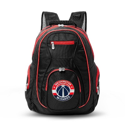 NBA Washington Wizards Colored Trim Laptop Backpack