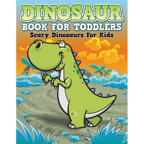 Dinosaur Coloring Book For Toddlers - (Paperback)