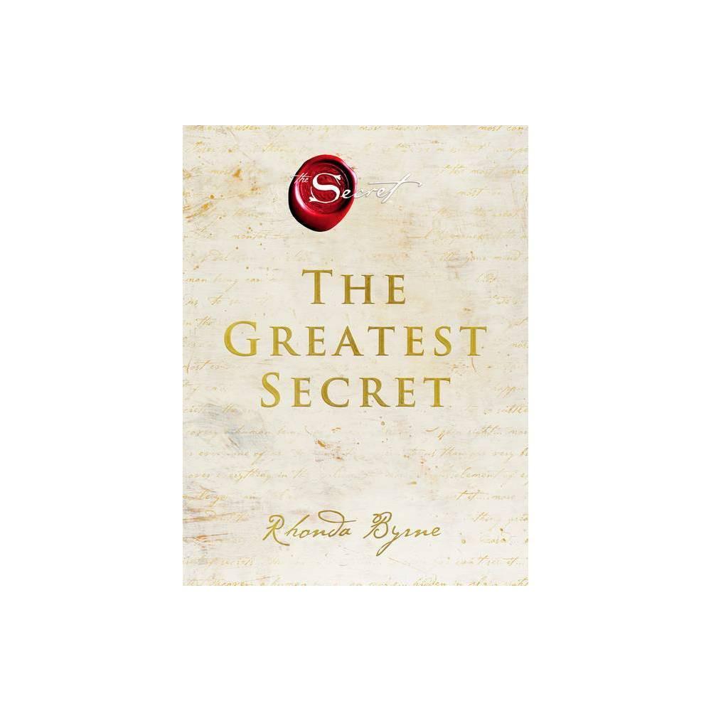 The Greatest Secret By Rhonda Byrne Hardcover