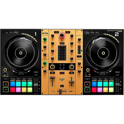 Hercules DJ DJControl Inpulse 500 2-channel DJ Controller in Limited-Edition Gold