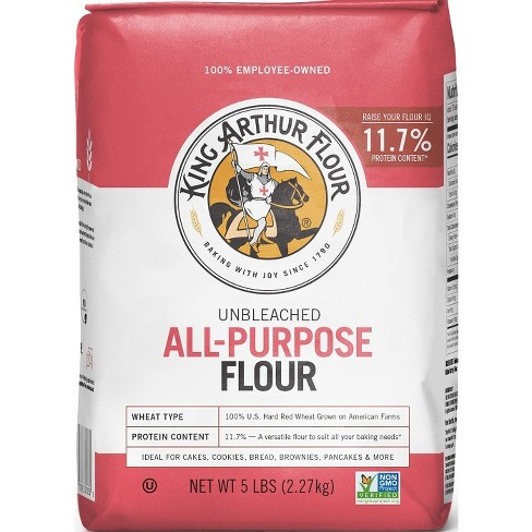 King Arthur Flour Unbleached All-Purpose Flour - 5lbs - image 1 of 4