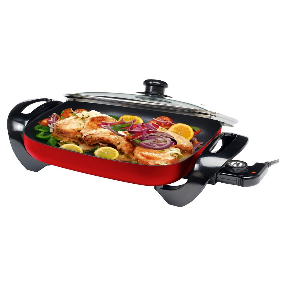 Elite Gourmet Electric Skillet – Red EG-1500R 47852802
