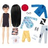 Creatable World Deluxe Character Kit Customizable Doll - Black Straight Hair - image 2 of 4
