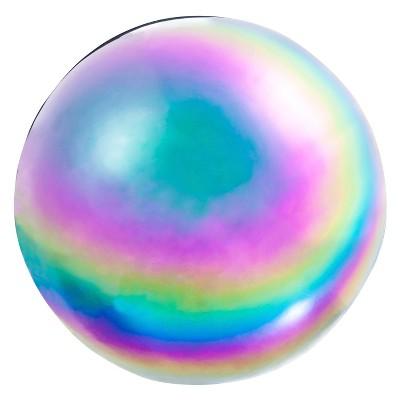 10.20  H Glass Gazing Ball - Evergreen
