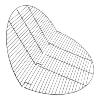 "Folding Chrome Cooking Grate 36"" - Round - Sunnydaze Decor"