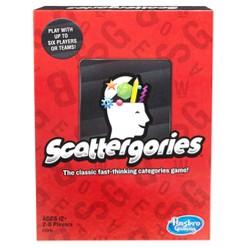 Scattergories Game, board games