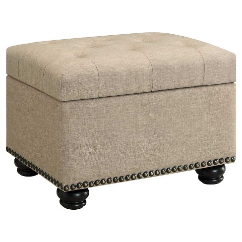 5th Avenue Storage Ottoman - Johar Furniture - image 1 of 4