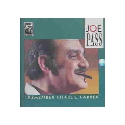 Joe Pass - I Remember Charlie Parker (CD) - image 1 of 1