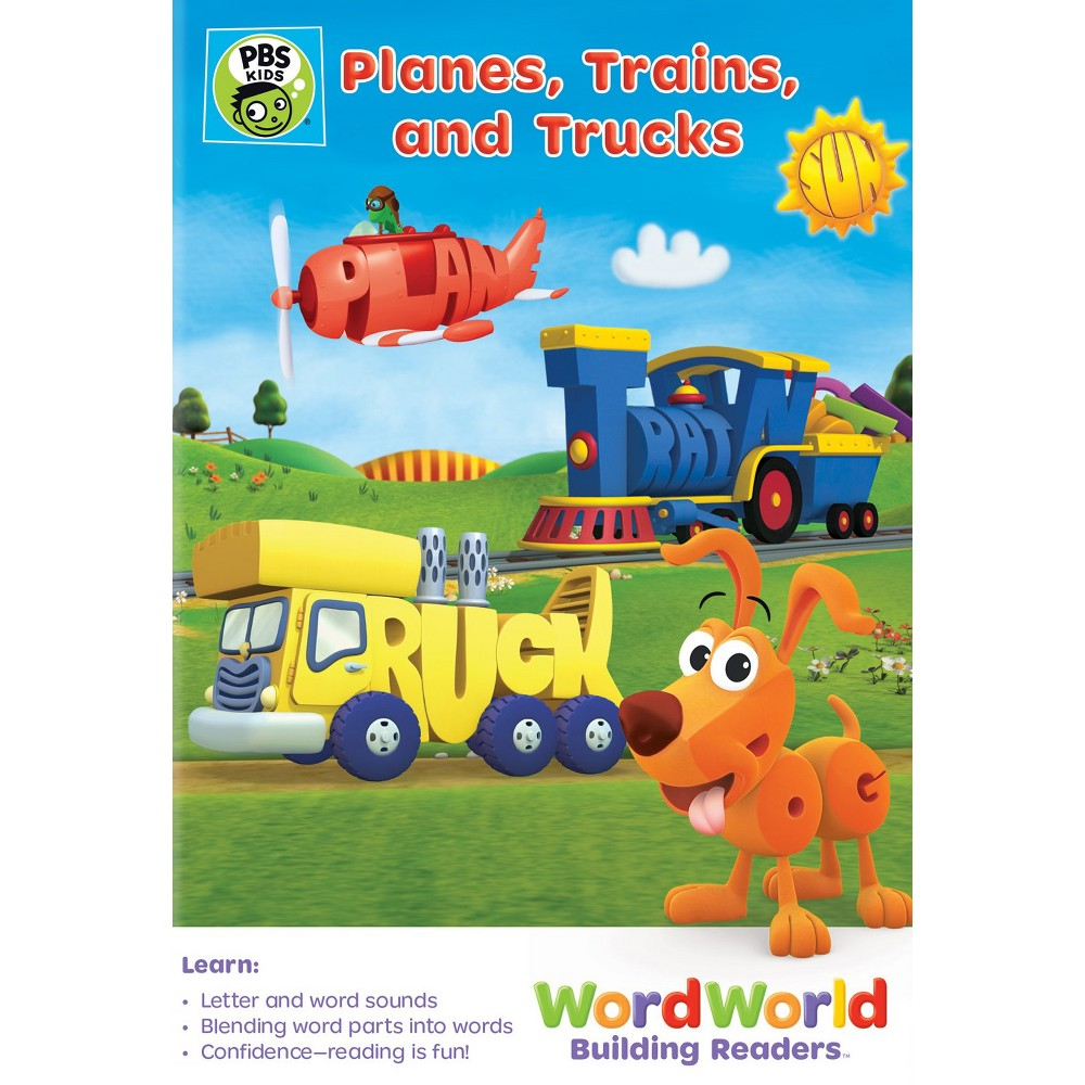 Wordworld:Planes Trains And Trucks (Dvd)
