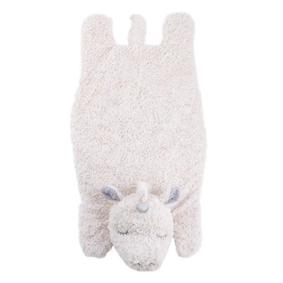 Crown Crafts Plush Tummy Time Mat - Unicorn