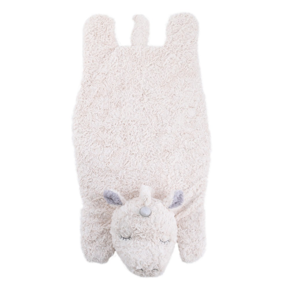 Image of Crown Crafts Plush Tummy Time Mat - Unicorn