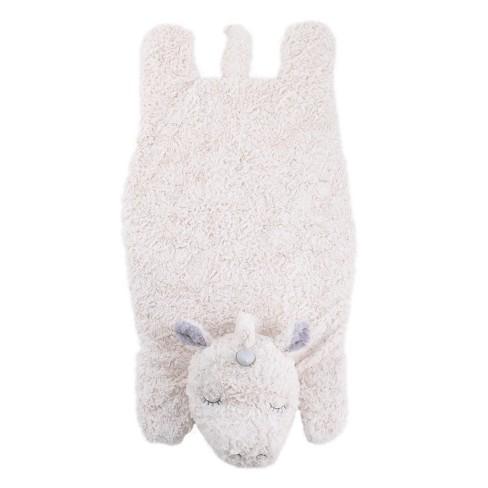 Crown Crafts Plush Tummy Time Mat - Unicorn - image 1 of 3