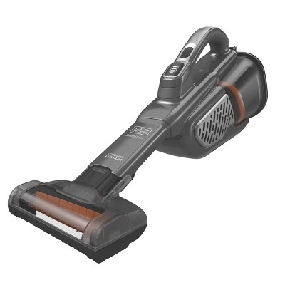 BLACK+DECKER dustbuster AdvancedClean+ Lithium Cordless Handheld Vac - Titanium Gray HHVK320JZ01