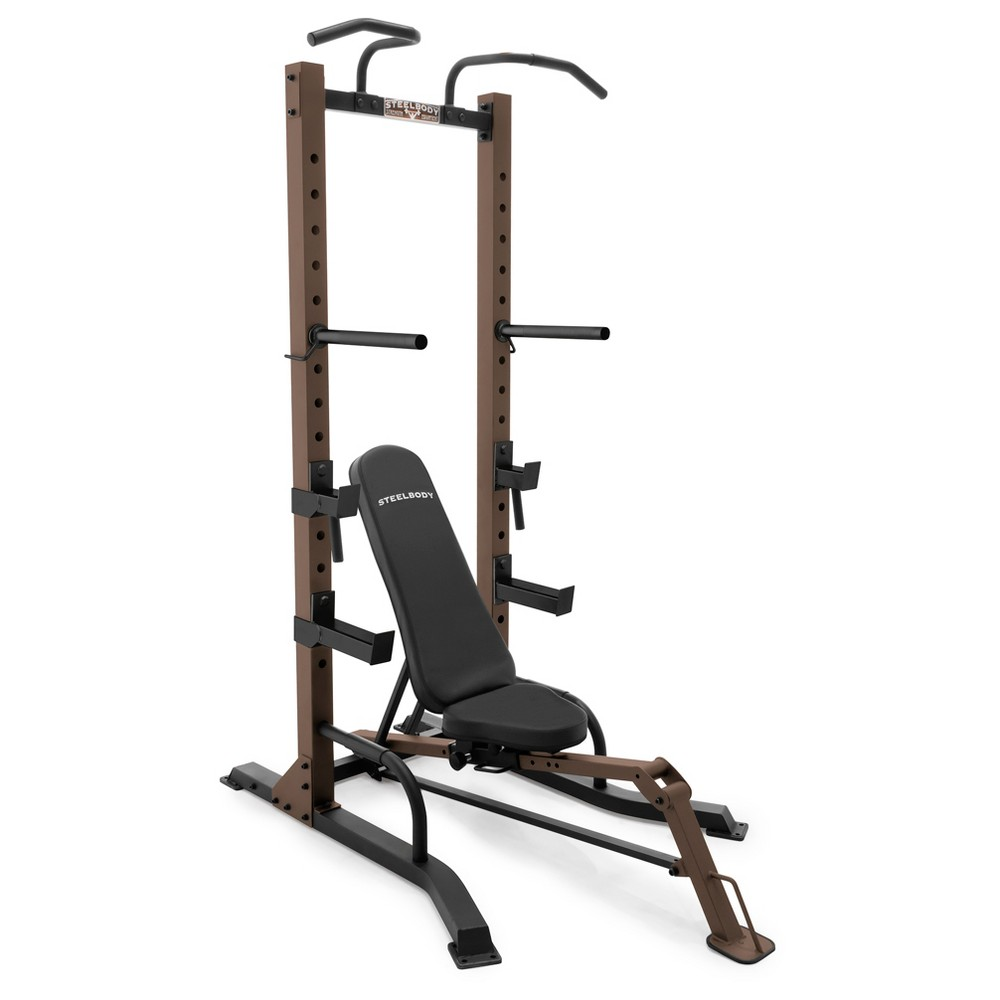 Steelbody Power Tower with Bench Home Gym