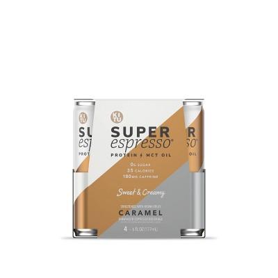 KITU Super Espresso Caramel - 4pk/6 fl oz Cans