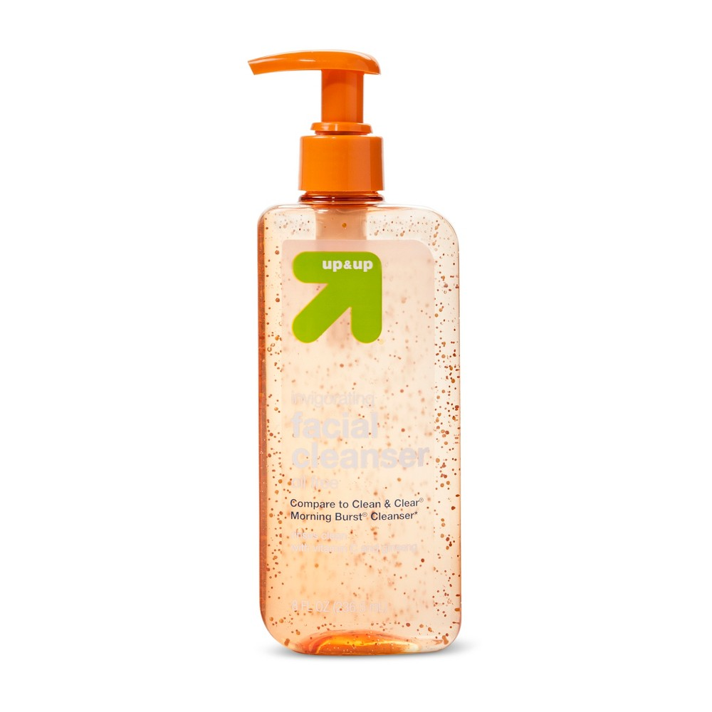 Facial Cleanser - Morning Burst - 8oz - Up&Up (Compare to Clean & Clear Morning Burst Cleanser)