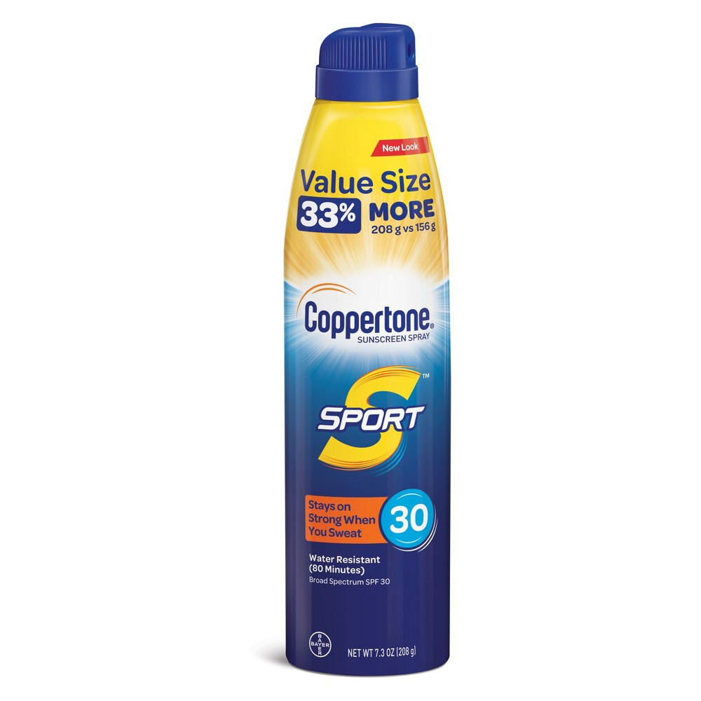 Coppertone Sport C Sunscreen Spray - Spf 30 - 7.3oz