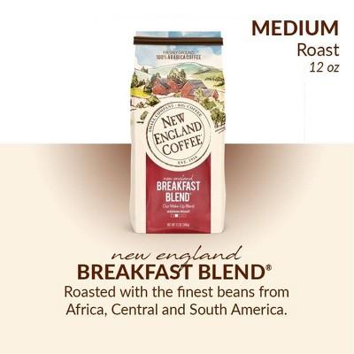 New England Breakfast Blend Medium Roast Ground Coffee - 12oz
